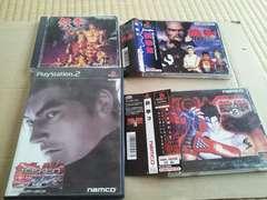人気シリーズ♪☆鉄拳シリーズ4本☆まとめ売り♪状態良い♪NAMCO。