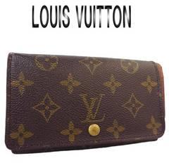 超美品 ルイヴィトン モノグラム L字ファスナー財布 M61730