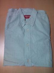 supreme2009s/s oxford shirt 長袖 オックスフォード グリン