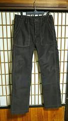 オアスロウorslowワークパンツサイズ2アメカジ古着系日本製BEAMSビームスジーンズデニム