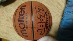 バスケットボール molten 皮製7号 モルテン