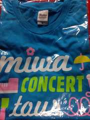 miwa 2013 Delight Tシャツ ターコイズ M ミワ