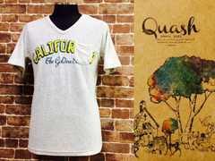 表記L/新品!Quash・パイル地カリフォルニア/胸ポケット付きVネックTシャツ/Opスタカリ