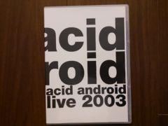 acid android�ulive 2003�vDVD/L'Arc-en-Ciel