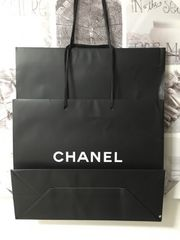 シャネル 大きいショップ袋2枚/シワあり本物