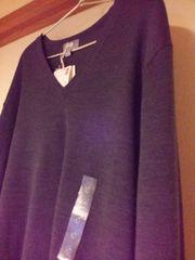 UNIQLO エクストラファインメリノ Vネックセーター  15AW 新品 S