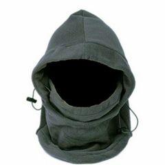 多機能 防寒フリースマスク 6WAY ユニセックス 男女兼用 グレー