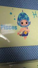 キューピーちゃん ホロスコープ☆ 魚座 シール  5枚