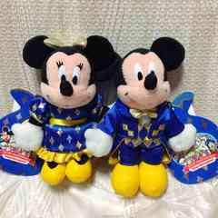 新品タグ付◆厳選 レア TDL 20周年 ギフト 2003 ミッキー&ミニー