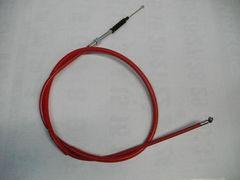 (2004C)CB400Nホーク�VCB400T CB250T15�pロングクラッチワイヤー赤