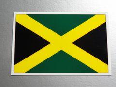 1■ジャマイカ国旗ステッカー1枚 シール ☆即買!■