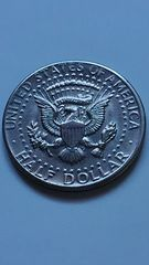 アメリカ硬貨、HALF DOLLAR (50セント)