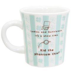 ☆注目☆名探偵コナン≪怪盗キッド≫陶器製ストライプマグカップ