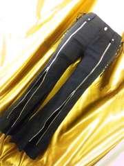 OzzOn格好いい履き心地最高2wayジップストレッチパンツ