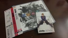 Vistlipヴィストリップ/SENSE/初回限定DVD+トレカ帯付き
