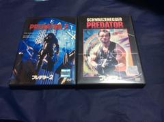 DVDプレデター/プレデター2   2巻セット 1は字幕版