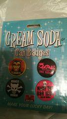 CREAM SODA 缶バッチ