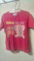 ブーフーウー ゾウさん プリントTシャツ S