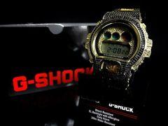 29万円Gショックcelebrityブラックダイア&labカスタム腕時計