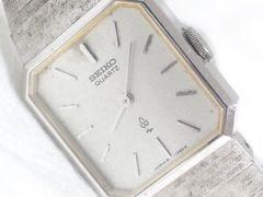 2671復活祭★SEIKOセイコー☆ブレスレット型レディース腕時計16-5540シルバー