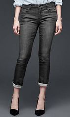 *���g�p*�yGAP 1969�zDark worn girlfriend jeans/25