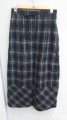 【美品】ロングスカート/素敵なマーメイド/チェック柄/ウエスト:62�p〜 66�p☆