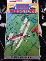 SKY MISSION 箱有 スーパーファミコン スカイミッション