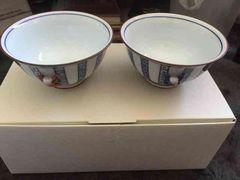 創作陶器たち吉 夫婦茶碗 未使用品 ペア 京都四条