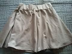 LL グレーキュロットスカート