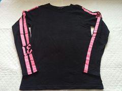 アルゴンキン◆ピンクラインロングTシャツ