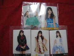 限定SKE48 5枚セット 公式生写真 斉藤真木子 非売品 未使用