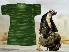 新品 Army Camoflage キャモフラ T−シャツ AC-110