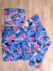 新品★サイズ3L★ハワイアンハイビスカスアロハシャツ★