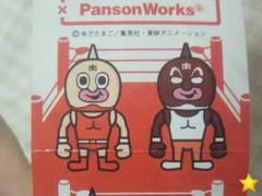 キン肉マンxパンソンワークスWフィギュアマスコット夢の超人タッグ編マッスル・ブラザーズ