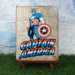 ★新品★【ブリキ看板】Captain America/キャプテン・アメリカ