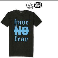 新品Cheap Mondayチープマンデー メンズ半袖Tシャツ ブラックL