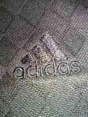 adidas アディダス 格子柄 襟付き 半袖 シャツ ブラック Sサイズ COOL
