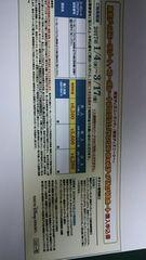 東京ディズニーランド&シー パスポート割引券