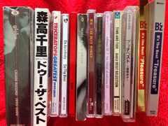 邦楽ベストアルバムCD まとめ売り B'zglobeGLAY森高千里工藤静香