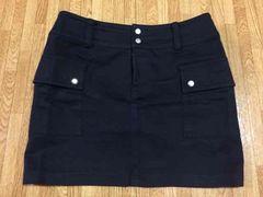 *黒ミニスカート*