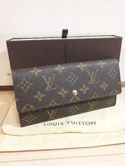 1円 ◆正規品◆ 超美品 ルイヴィトン モノグラム 長財布