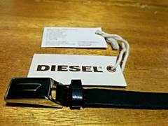 DIESEL ブレスレット レザー 本革 正規品タグあり シンプル
