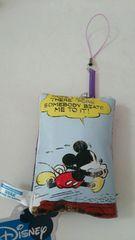 ミッキー&フレンズ コミックアートクリーナーストラップ 非売品 ディズニー