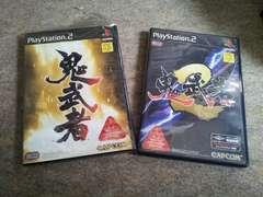 PS2☆鬼武者1&2☆まとめ売り♪状態良い♪CAPCOM