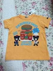新品 ダブルB  ハンバーガー Tシャツ 100cm  バクプリ有り
