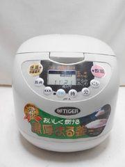 9808☆1スタ☆TIGER マイコン炊飯ジャー 5.5合炊き JAF-A100