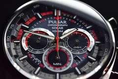 ハミルトン社SEIKOセイコーWRC公認ソーラークロノPulsar腕時計