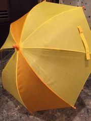 無地 黄色 傘