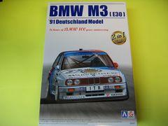 アオシマ BEEMAX-11 1/24 BMW M3 E30 '91 ドイツ仕様 新品