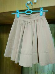 フレアーミニスカート ピンク/s